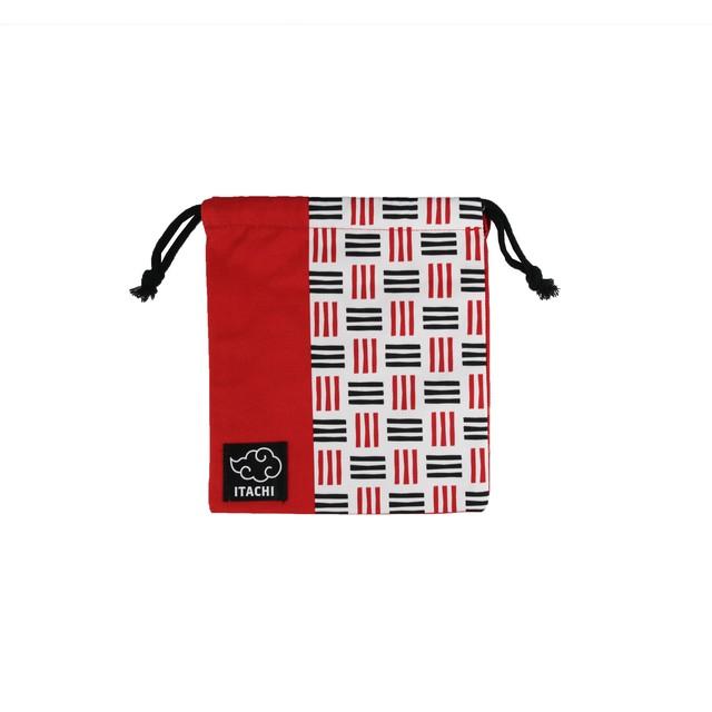 NARUTO 巾着袋(レッド・イタチ) 【ニジゲンノモリ限定商品】