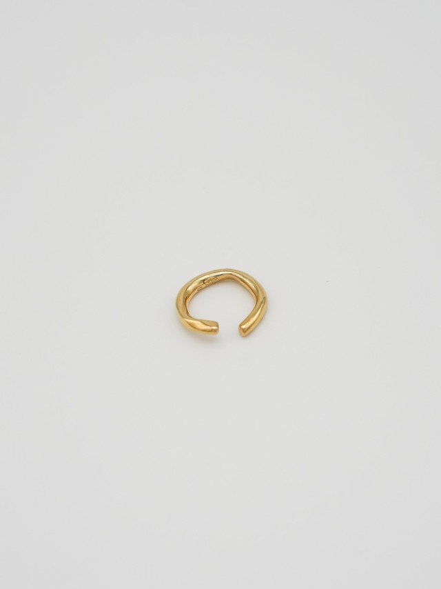 raw big hoop earcuff gold(再入荷)