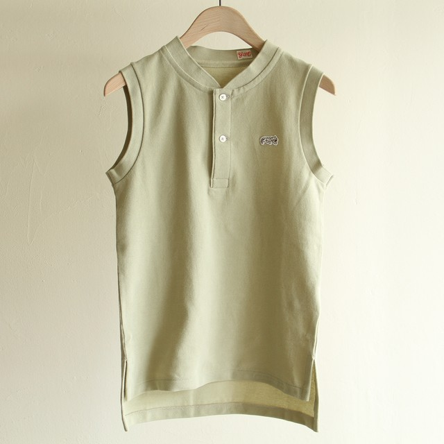 YOUNG&OLSEN 【 womens 】 pique henly neck