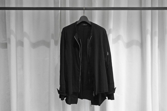ASKYY / NYLON EASY JACKET / BLK
