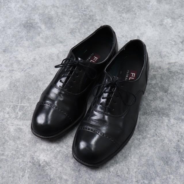 """"""" FLOSHEIM """" フローシャイム 革靴 8 D 古着 A596"""