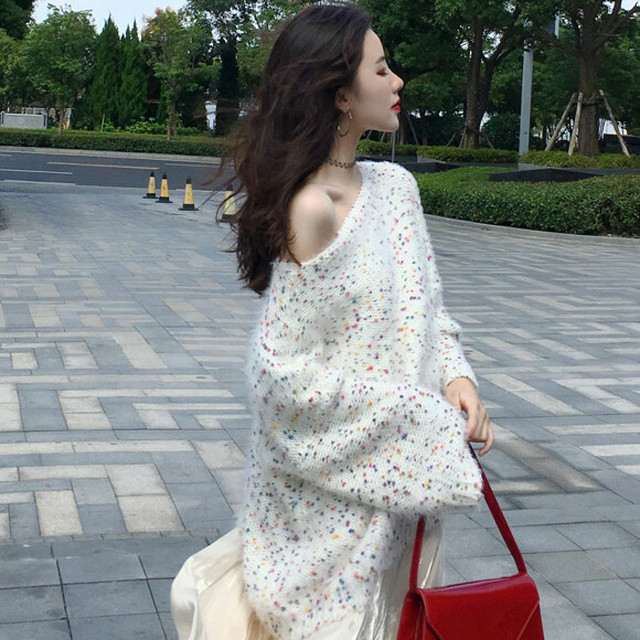 【セットアップ】【単品注文】セクシー韓国系セーター+無地簡約スカート二点セット22886612