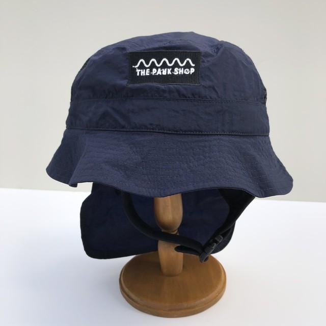 【21SS】THE PARK SHOP(ザ・パークショップ)WATERBOY HAT (KIDS )navy ハット 帽子