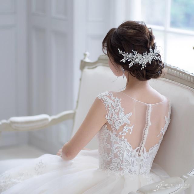 ブライダルヘッドドレス[HA-071]