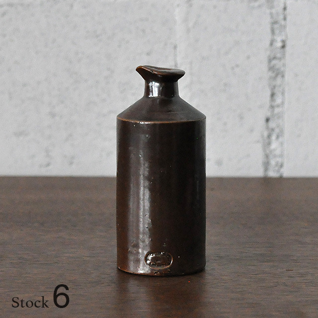 Vintage Pottery Bottle 【6】/ ポタリー ボトル / n6-1806-0038-03