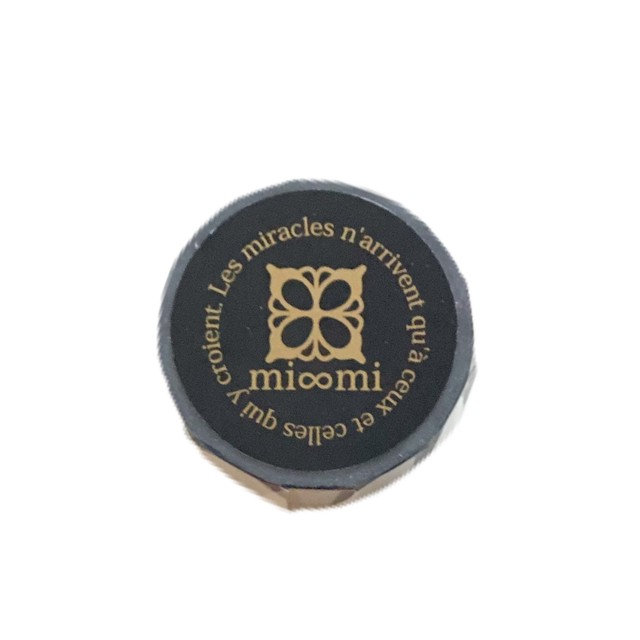 mi∞miオリジナルマスキングテープ(ブラック)