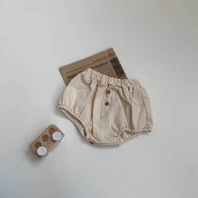 464. bloomers / ivory denim