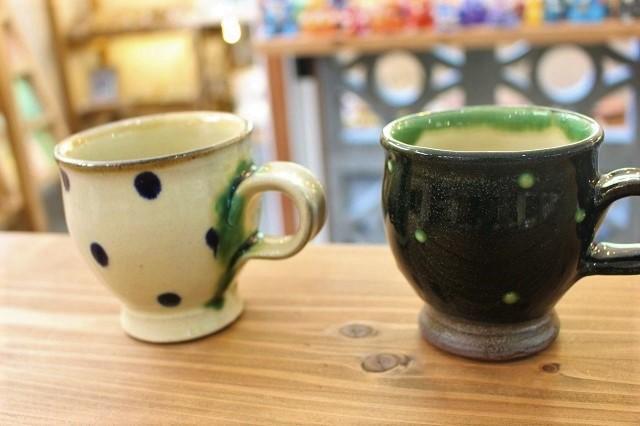 点打柄マグカップ 工房福田
