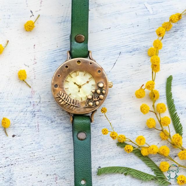 ミモザの花咲く頃腕時計M