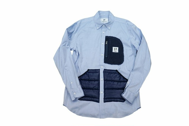 OUTDOOR POCKET SHIRTS (SAX)