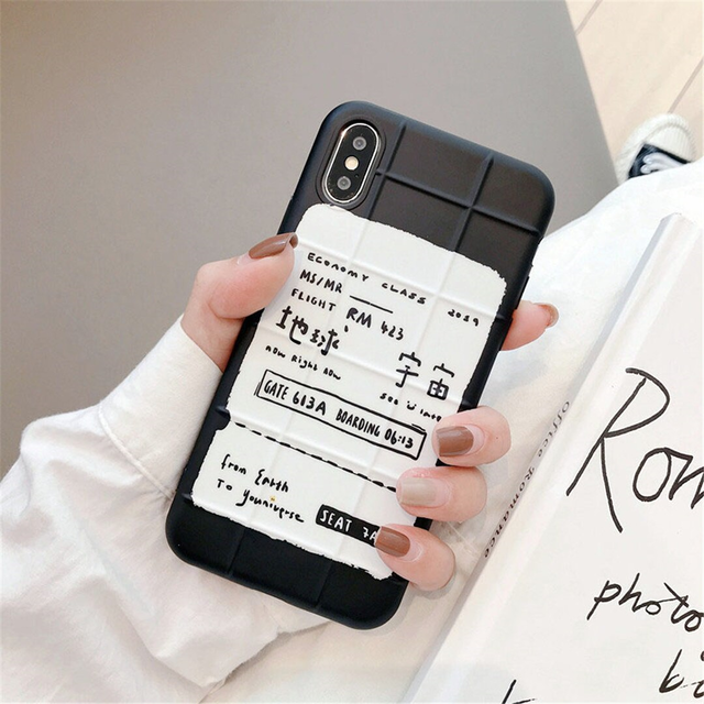 【オーダー商品】Earth universe ticket iphone case