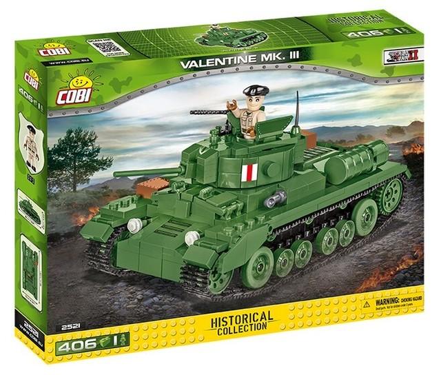 COBI #2475 M10 ウルヴァリン 駆逐戦車 (M10 Wolverine)