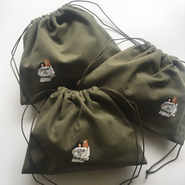 FickleStore×MERCH Drawstring Bag