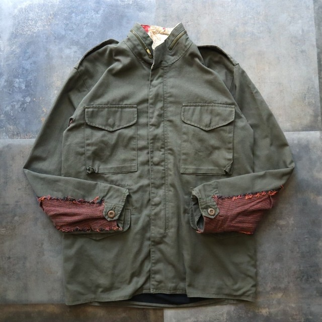 made in USA military jacket