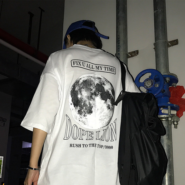 【トップス】ストリート系半袖無地Tシャツ25989367