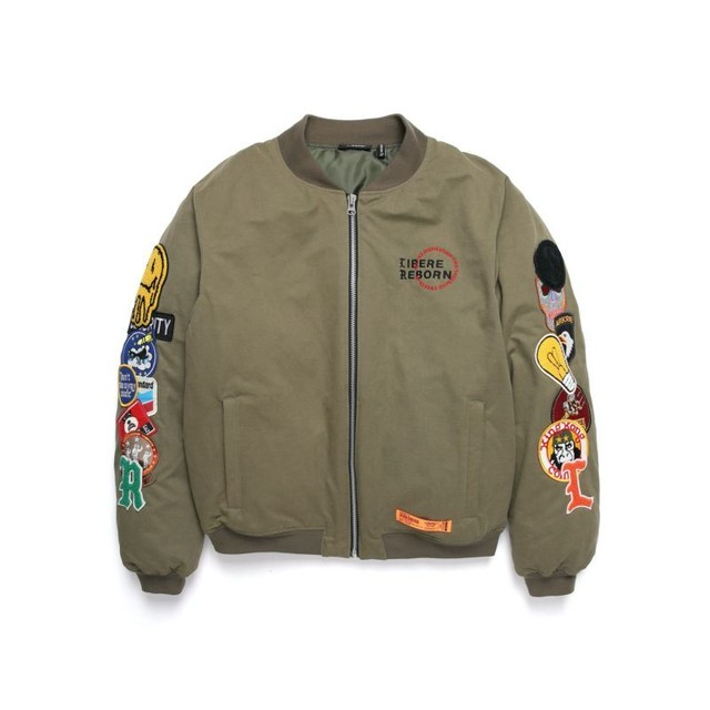 LIMITED WAPPEN DOWN BOMBER JACKET / OLIVE