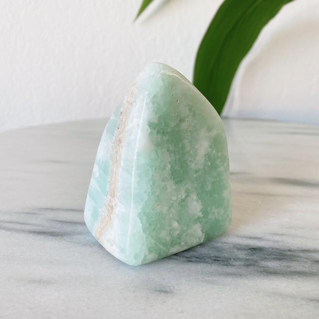 カリビアン ブルーカルサイト インテリア雑貨 天然石