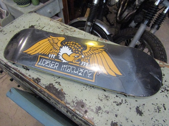 "LOSER MACHINE REEFER REAPER 8.25"" DECK / SALE"