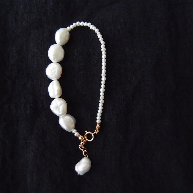 パールブレスレット … beans pearl【K14gf】