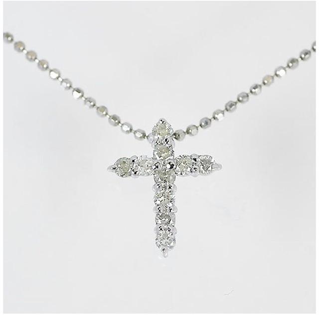 プラチナ900台 0.1ct ダイヤモンド 一粒 ペンダント ネックレス