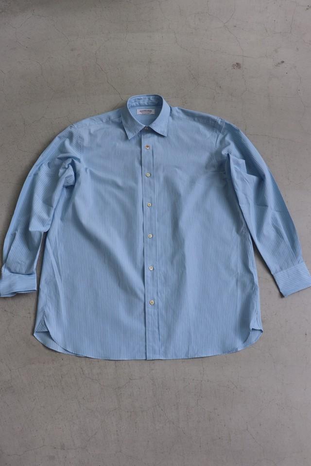 MAATEE &SONS Regularシャツ Bluestripe