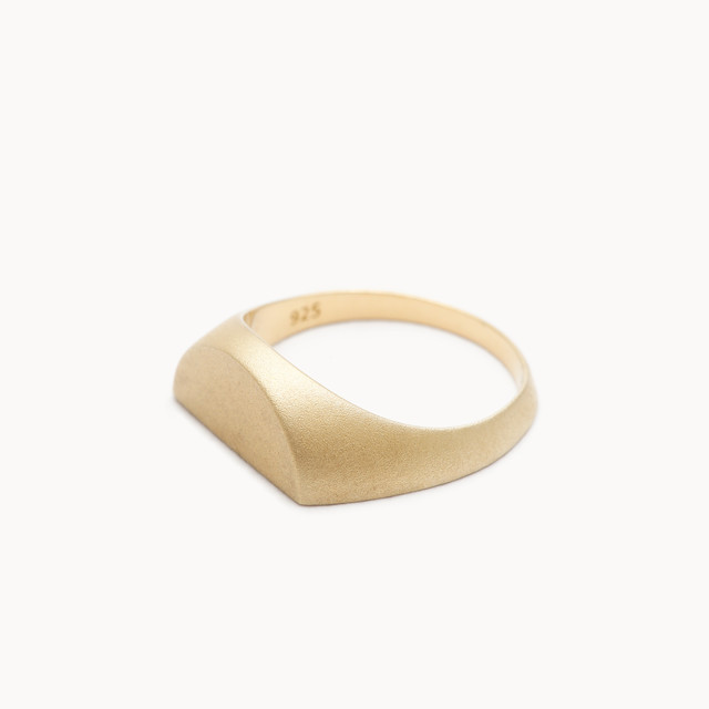 Half Signet Pinky Ring|ピンキーリング - art.1607P011020S