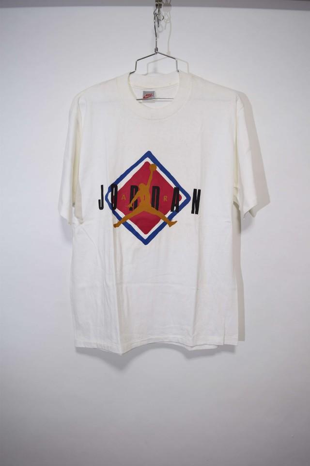 【Sサイズ】 NIKE ナイキ 90年代 銀タグ エアジョーダン Tシャツ AJ RHOMBUS LOGO Tee WHITE ホワイト  243301190330