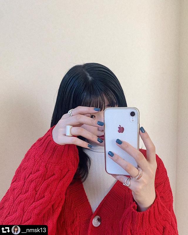 【送料無料】 華奢見えカーデ♡ ざっくり ケーブル編み ボリューム ニット カーディガン Vネック べっ甲柄ボタン