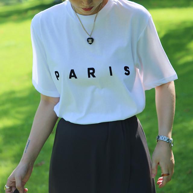 PARISロゴTシャツ 3colors