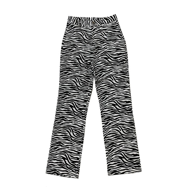 Zebra High Waist Pants