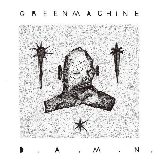 GREENMACHiNE - D​.​A​.​M​.​N.(CD)