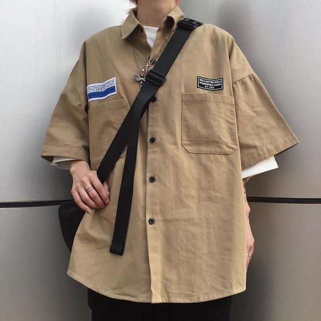 【ユニセックス】ミリタリーシャツ