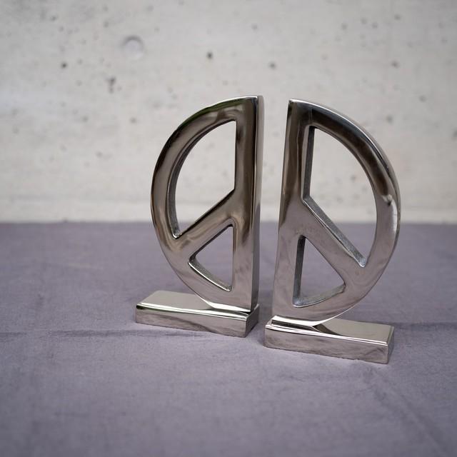 ブックエンド PEACE