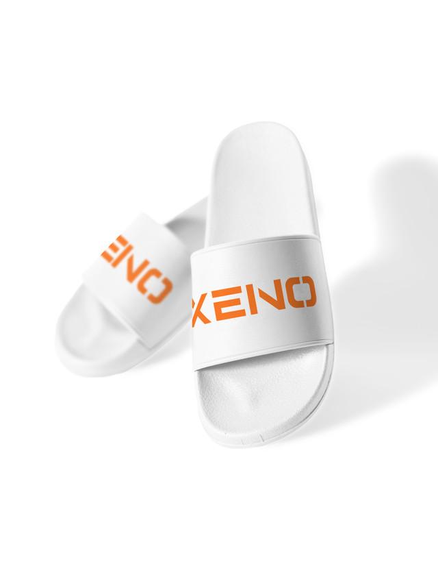 XENO SLIDES SANDAL White
