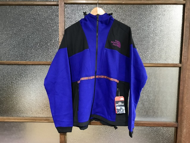 THE NORTH FACE 92 RAGE FLEECE HOODIE (AZTEC BLUE/RAGE COMB)