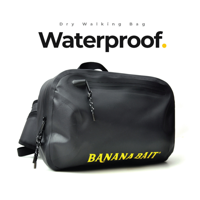 【Banana Bait】Dry Banana walking Bag / Black