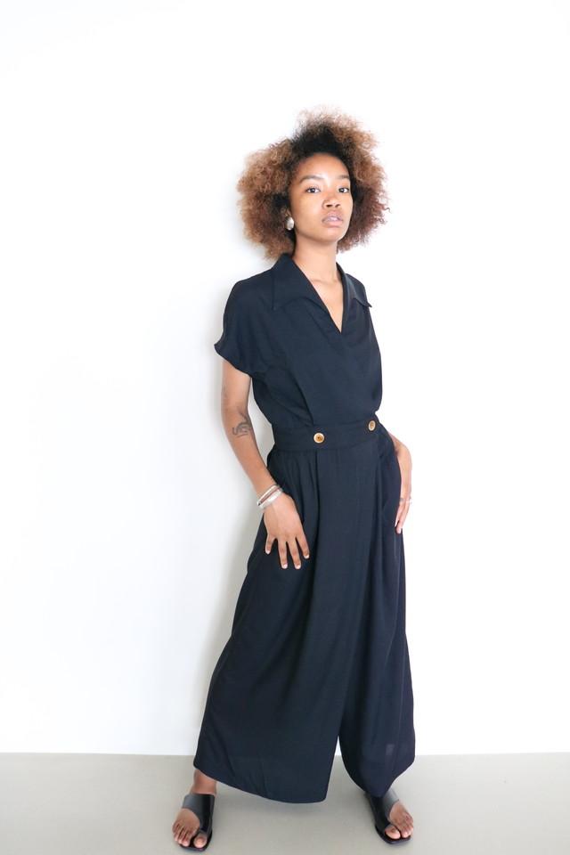 Vintage black jumpsuit