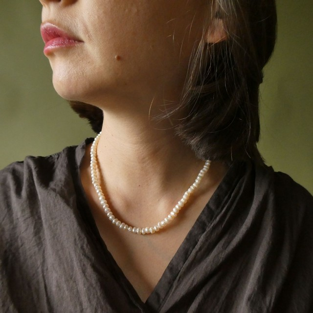 the knit + vintage collection: the pearl necklace edition 1:11