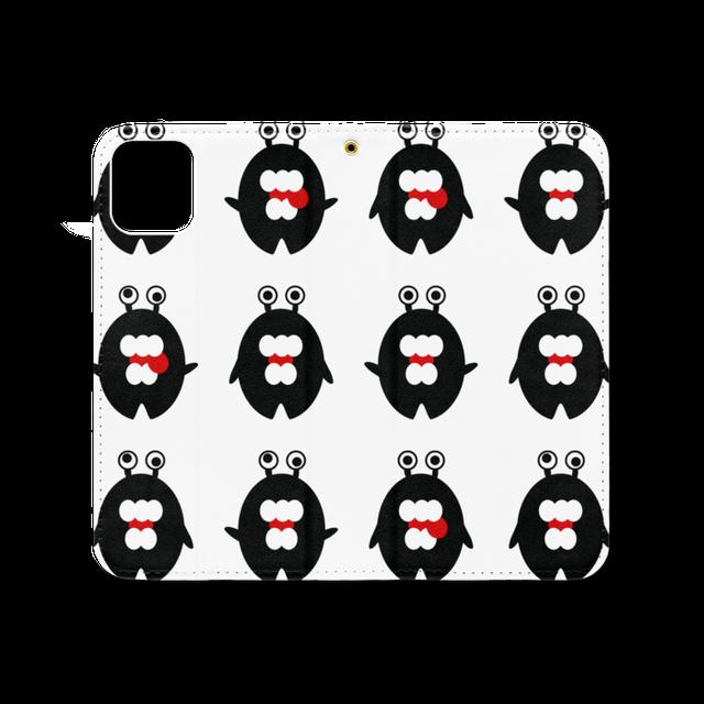 モンス/ツー*手帳型iPhoneケース