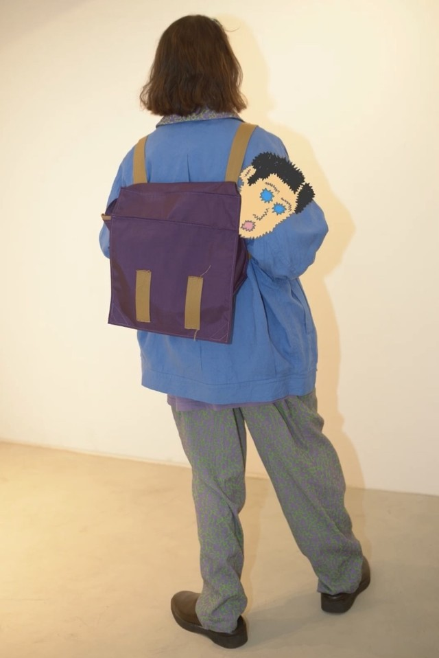 【HOMELESS TAILOR】2 WAY RECORD BAG