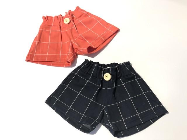 【20SS】ゾジオ(ZOZIO) Check short pants [M / L]