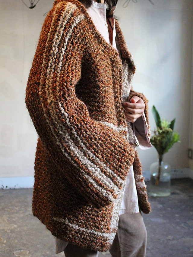 70s hand made knit