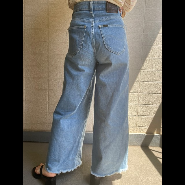 Lee wide denim pants