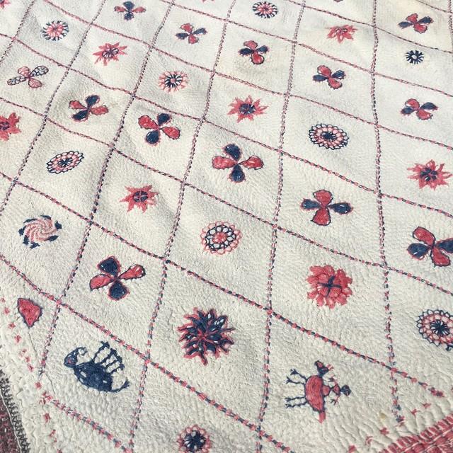 インド カンタ刺繍 A