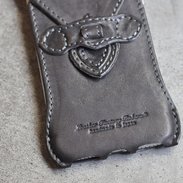 "Father's Day Gift -E- ""iPhone SE case all leather type"""