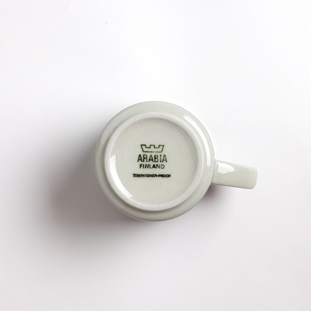 ARABIA アラビア Taika タイカ デミタスコーヒーカップ&ソーサー、プレート 三点セット 北欧ヴィンテージ