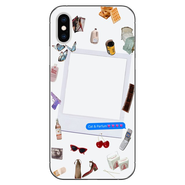 Girls Night iPhone Case with chain