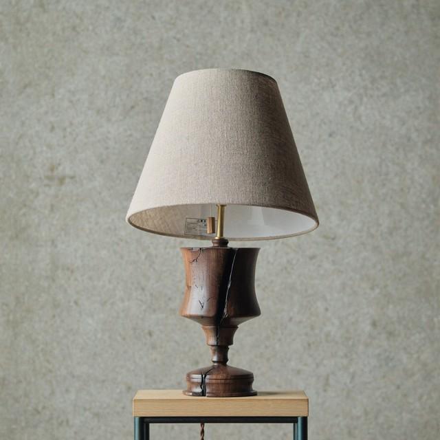 燈台 / Table Lamp-018 / ウォルナット