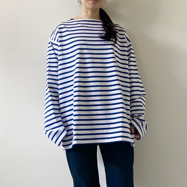 OUTIL / TRICOT AAST (White*Navy)