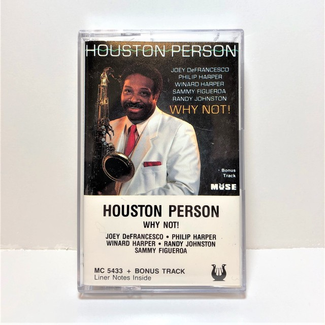 [中古カセット]  Houston Person ‎– Why Not!